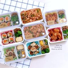 Bento Box, Lunch Box, Picnic Foods, Lunches And Dinners, Japanese Food, Family Meals, Meal Prep, Clean Eating, Food Porn