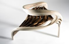 Sculptural Wooden Furniture by Joseph Walsh