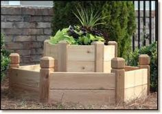 Image result for raised flower beds