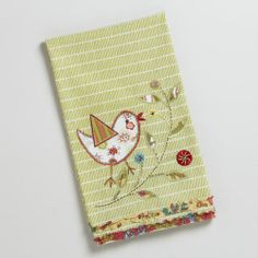 Prob too sweet looking for my transitional/soft modern kitchen - but darling for someone!  Birds make me happy!