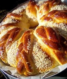 Pan Dulce, Greek Recipes, French Toast, Food And Drink, Snacks, Breakfast, Cyprus, Pastries, Minerals