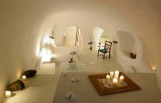 Maison troglodyte - Santorin