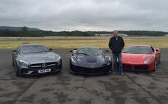 What car did Jeremy Clarkson use for his final lap on the Top Gear Test Track? #topgear #motoringnews