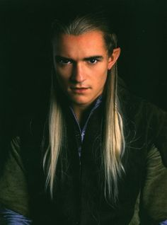 Legolas (Orlando Bloom)  from Lord of the Rings <3