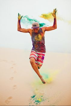 Nicholas Maggio :: for Pac Sun Summer 2012 Color Paint Photography, Editorial Photography, Smoke Photography, Dance It Out, Just Dance, Holi Colors, Colours, Festival Paint, Holi Photo