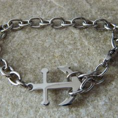 Anchor Stainless Steel Bracelet