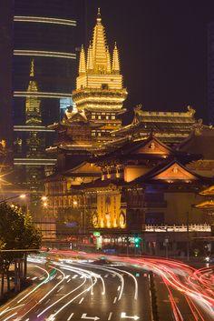 Shanghai - JingAn Cityscape with JingAn Temple | Flickr - Photo Sharing!