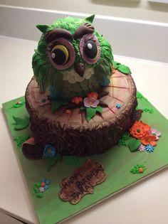 Ms. Hootie The Owl cake....
