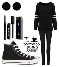 """""""Untitled #128"""" by shamelessreject on Polyvore featuring Paige Denim, Converse, AeraVida, Bobbi Brown Cosmetics, Therapy, women's clothing, women, female, woman and misses"""