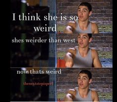 And west is weird! James is talking about Beth!!!!!!!!!!!
