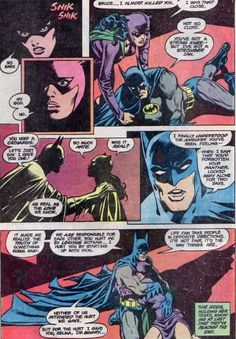 """""""Neither of us intended the hurt we gave. But for the hurt I gave you, Selina, I'm sorry.""""-this hits really close to home (scarlet) Catwoman Y Batman, Batman Cat, Son Of Batman, Bruce And Selina, Catwoman Selina Kyle, Dc Comics Girls, Best Comic Books, Comic Book Panels, Dc Comics Characters"""