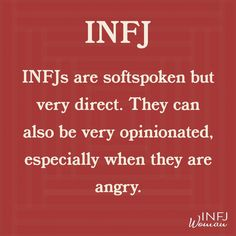 INFJs are softspoken and direct. - INFJs are softspoken and direct. INFJs are soft spoken and direct. It& quite a combination. Infj Traits, Infj Mbti, Intj And Infj, Enfj, Infp Personality, Myers Briggs Personality Types, Personality Descriptions, Personalidad Infj, Infj Type