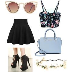Untitled #36 by menschaertlouka on Polyvore featuring polyvore fashion style Michael Kors