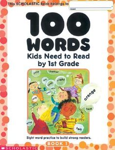 @Overstock - Each workbook reinforces the 100 words that children need to know - and it helps them master comprehension, spelling, writing, and usage of each word. Includes:- Fill-in-the-blank stories and sentences- Word riddles, games, and puzzles- Stories that pr...http://www.overstock.com/Books-Movies-Music-Games/100-Words-Kids-Need-to-Read-1st-Grade/2359892/product.html?CID=214117 $3.91
