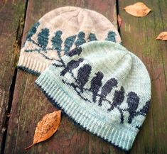 PDF Knitting Pattern Passerine Hat Best Picture For fair isle knittings motifs For Your Taste You ar Knitting Patterns, Crochet Patterns, Free Knitting, Knit Crochet, Crochet Hats, Fair Isles, Fair Isle Knitting, Yarn Crafts, Knitting Projects