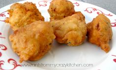 Clam Fritters - Rants From My Crazy Kitchen Fish Recipes, Seafood Recipes, Cooking Recipes, Asian Recipes, Chowder Recipes, Cat Recipes, Seafood Dishes, Fish And Seafood, Seafood Kitchen