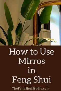 Feng Shui has many ways to utilize the power and beauty of mirrors. These Feng S… Feng Shui has many ways to utilize the power and beauty of mirrors. These Feng Shui tips explain how to use mirrors to enhance your home decor and create a Feng Shui home. Feng Shui Tools, Feng Shui And Money, Feng Shui Plants, How To Feng Shui Your Home, Feng Shui Art, Feng Shui Dicas, Consejos Feng Shui, Feng Shui Studio, Feng Shui House