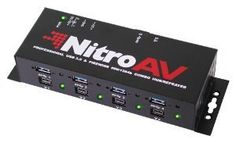 NEW NitroAV 4-Port FireWire 800/1394b + 4-Port USB 3.0 SuperSpeed Professional Hub/Repeater by NitroAV. $169.90. When failure is not an option, professionals choose NitroAV! The all new NitroAV -Professional Grade- 4-port 1394b FireWire 800 hub/repeater plus 4-Port USB 3.0 SuperSpeed hub allows you to easily attach (4) FireWire devices and (4) USB devices, simultaneously, when attached to a USB and FireWire port. Perfect for audio and video devices, delivering s...
