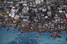 The Seattle Times published a series of photos showing the aftermath and destruction of Typhoon Haiyan.