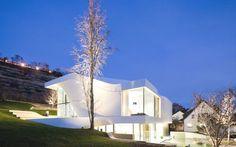 A unique house outside of Stuttgart, Germany