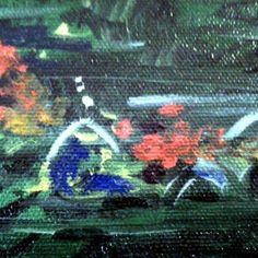 "#Impressionist, #fineart,  original, oil on canvas, 16x20, ""Gardens"" Series.  By Julie Tucker-Demps."