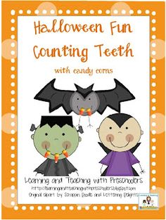 Classroom Freebies Too: Halloween Fun Counting Teeth