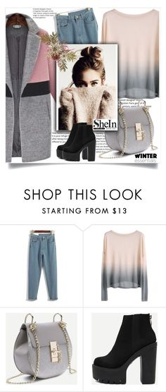 """SheIn 10"" by amrafashion ❤ liked on Polyvore featuring vintage"