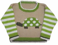 Turtle Crew Neck pattern by Gail Pfeifle, Roo Designs