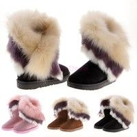 Material: Frosted Suede+ Synthetic Fur 3 Colors Available: Brown, Black, Pink Gender: Women Season: