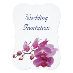 Orchids Inexpensive Wedding Packages Sets Kits Card - wedding invitations cards custom invitation card design marriage party