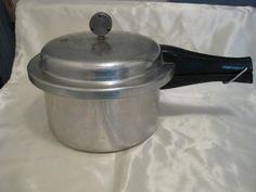 Vintage Mirro-Matic Pressure Cooker Pot by WHISTLESTOPTRAINSHOP