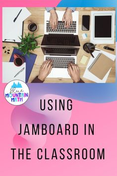 Looking for ideas to use with online learning?  Jamboard fills in that element that I was missing from the classroom. Assign a jamboard with a problem and watch as students answer, even add some ideas or questions for them. Collaborative or use one board for each students. Check out ideas at my blog.