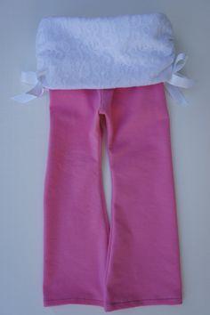 Baby Girl Pink Yoga Pants
