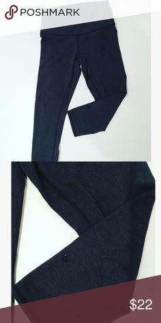 Lululemon athletica high waisted wonder under crop Dark heathered gray color. lululemon athletica Pants Leggings