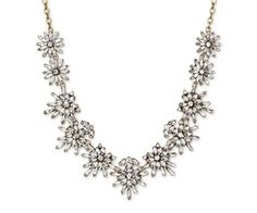 Sugarfix by BaubleBar Floral Necklace - Crystal, Clear Necklace Box, Floral Necklace, Collar Necklace, Necklaces, Bracelets, Pearl And Diamond Necklace, Crystal Necklace, Best Mothers Day Gifts, Gifts For Mom