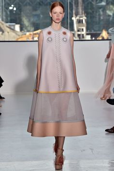 Delpozo Spring 2015 Ready-to-Wear Fashion Show - Dani Witt