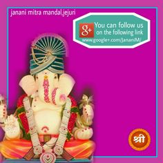 Do visit the Google+ and get Bappa's blessing. Contect with us on http://www.google+.com/JananiM/ #janani #ganapathi.