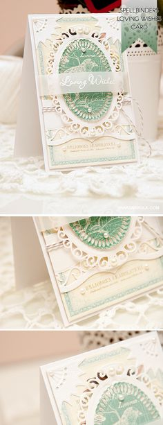 Create a beautiful card using Spellbinders dies and papers from Graphic 45. Video tutorial and details here: http://www.yanasmakula.com/?p=44014 Dies used: Gold Corners One, Elegant Ovals, Gold Ovals, A2 Bracket Borders One
