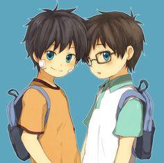 Little Rin & Yukio