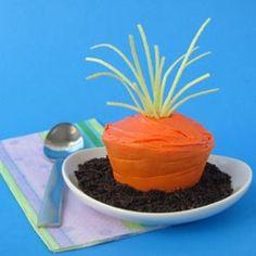 Carrot Top Cupcakes