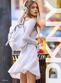 Cara Delevingne for DKNY