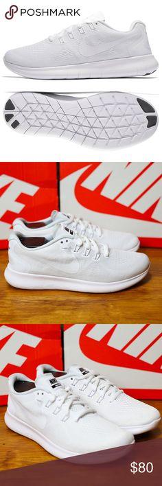 5fe5dd937068 Nike Free RN 2017 White Women s Running Shoes 7.5 Nike FREE RN 2017