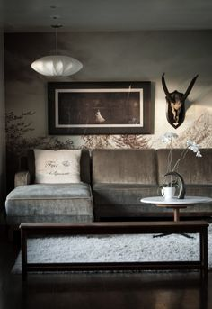 Merveilleux Am Lovin That Wallpaper Living Spaces, Living Area, Living Room Designs,  Living Rooms