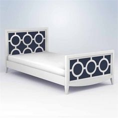 The Regency Youth Bed is dramatic and sophisticated! Choose between two sizes (twin and full) to best suit your child's room