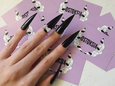 extreme stiletto nails