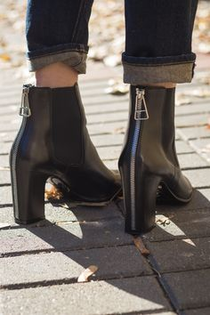 ankle boots by Balenciaga I #streetstyle #point41