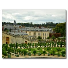 Postcard Right View of The Gardens of Versailles Cartes Postales