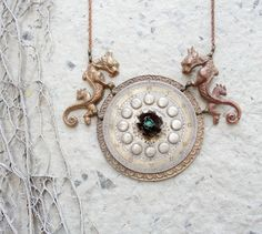 Myths of Time Steampunk Necklace
