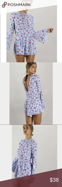 Endless Rose Romper New without tags: A brand-new, unused,  and unworn item. The original tags may not be attached. **nasty gal item refer to site for sizing guide**  NO Trades   NO Holds (whoever first come to buy unless note otherwise) Nasty Gal Pants Jumpsuits & Rompers