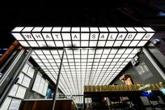 Architizer is the largest database for architecture and sourcing building products. Home of the A+Awards - the global awards program for today's best architects. Ceiling Effect, Retail Facade, Sign Fonts, Signage Design, Shop Signage, Best Ads, Tap Room, Environmental Graphics, Grand Hotel